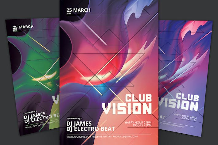 Thumbnail for Club Vision Flyer