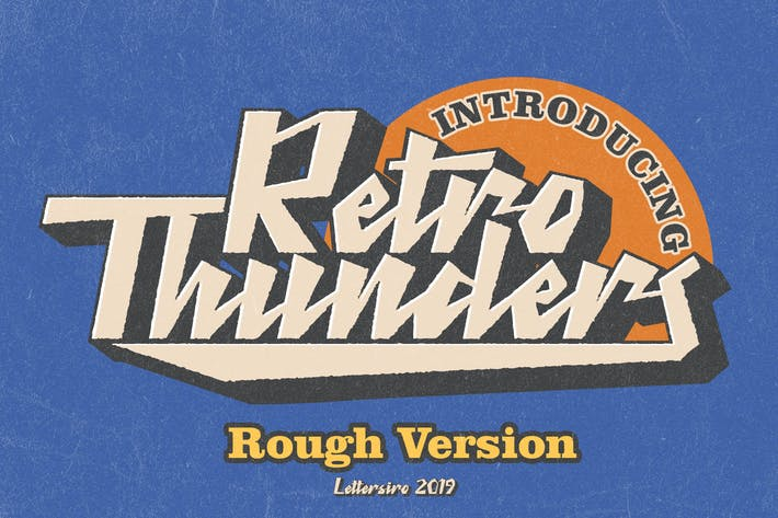 Thumbnail for Retro Thunder - Rough Version