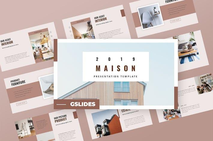 Maison - Property Google Slides Presentation