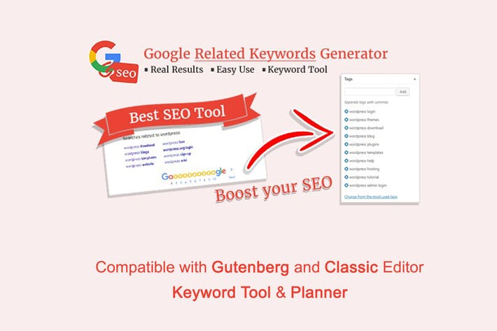 Thumbnail for Google Related Keywords Generator - Wordpress SEO