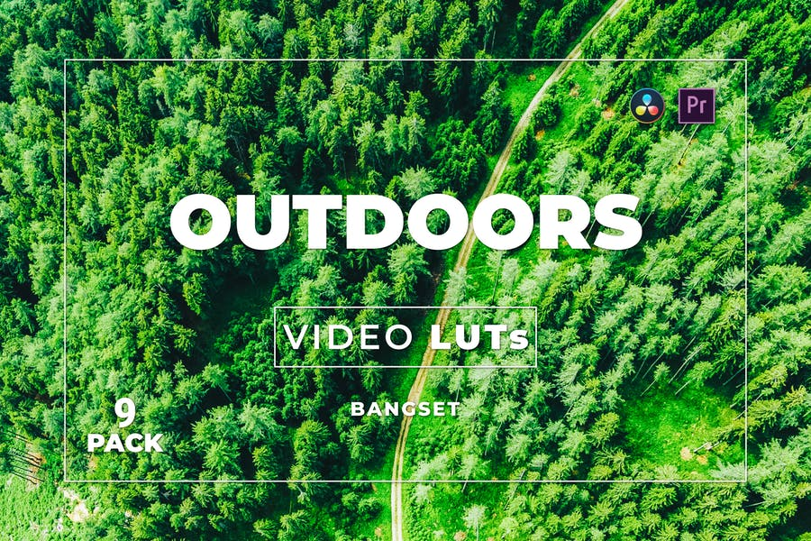 Bangset Outdoors Pack 9 Video LUTs