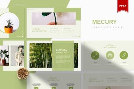 Mercury   Plantilla Powerpoint