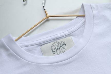 Étiquette de vêtements Mockup