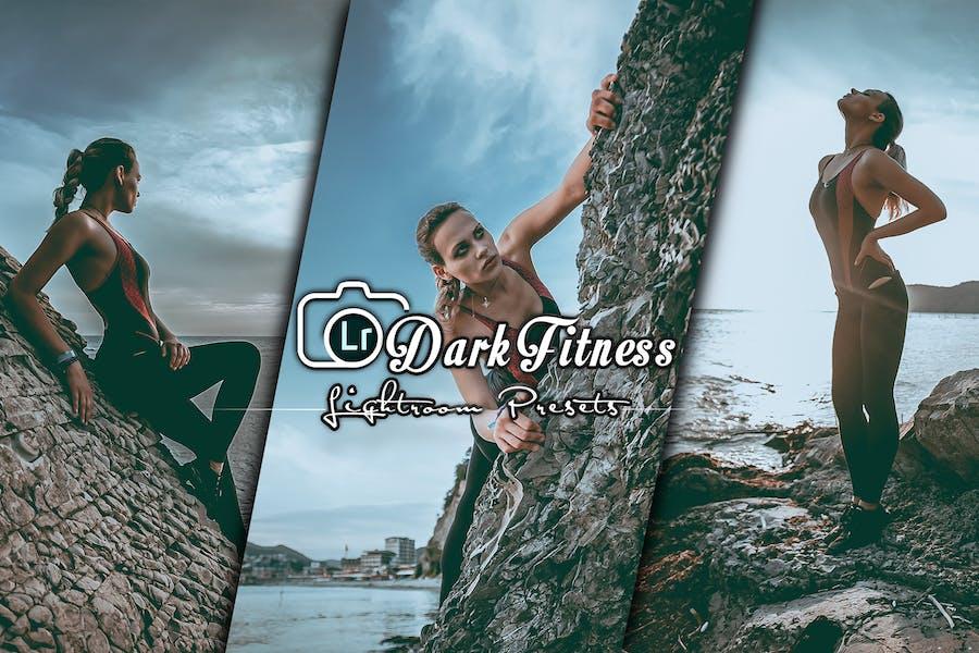Dark Mood Fitness Lightroom Presets Mobile and PC