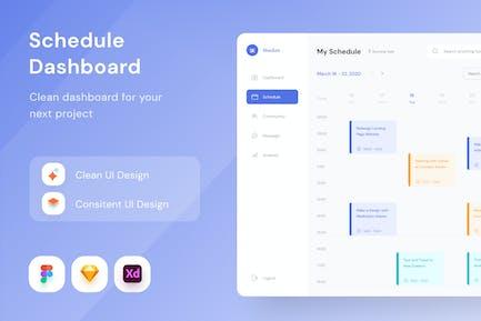 Schedule Dashboard