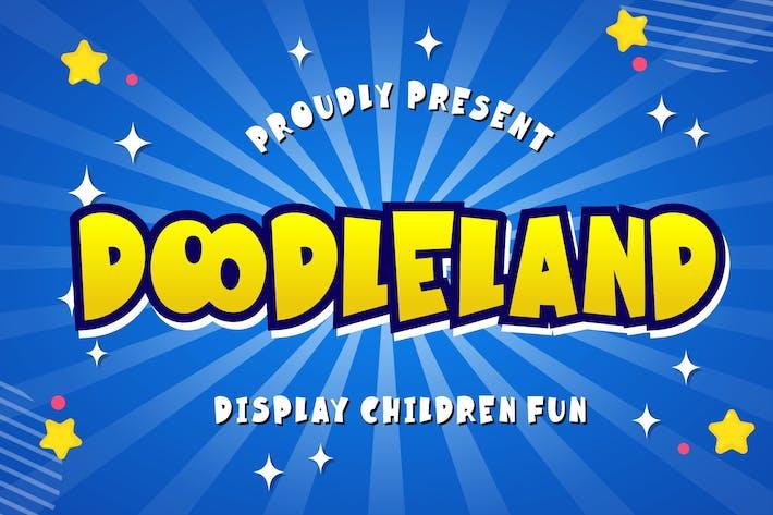 Doodleland Display Fun Children