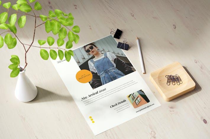 Thumbnail for Minimal Fashionish Flyer
