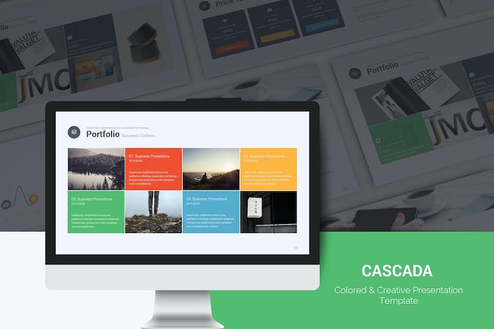 Cover Image For Cascada Business Template (Powerpoint)