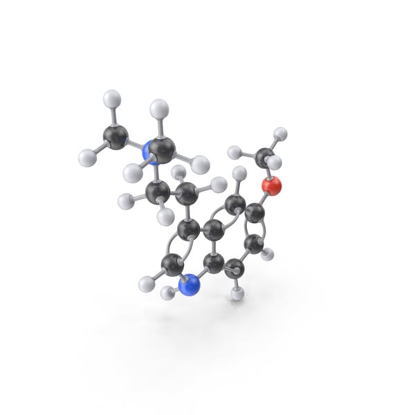 Cover Image for 5-MeO-DMT Molecule