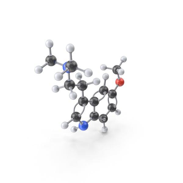 5-MeO-DMT Molecule