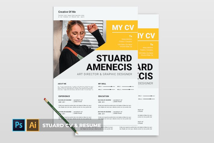 Thumbnail for Stuard | CV & Resume