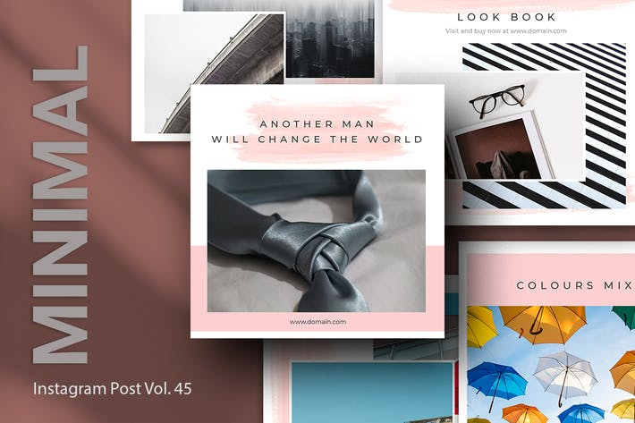 Thumbnail for Minimal Instagram Post Vol. 45