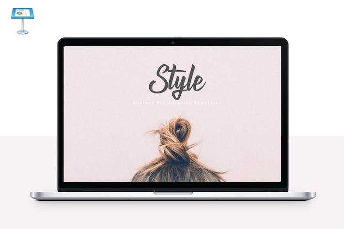 Thumbnail for STYLE - Multipurpose Keynote Template V49