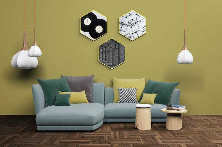 Cover Image For Mockup Interior Scene Creator - MK2