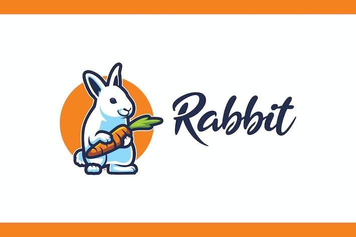 Thumbnail for Logo mascotte lapin dessin animé