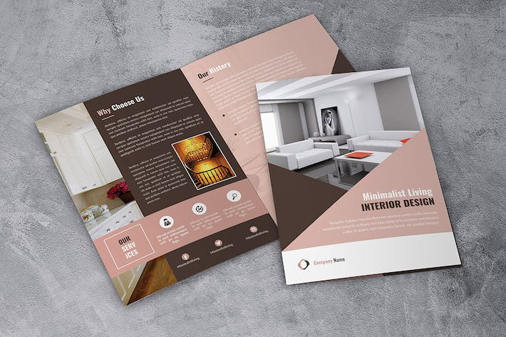 Thumbnail for Interior Design Bifold Brochure