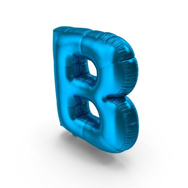 Foil Balloon Letter B