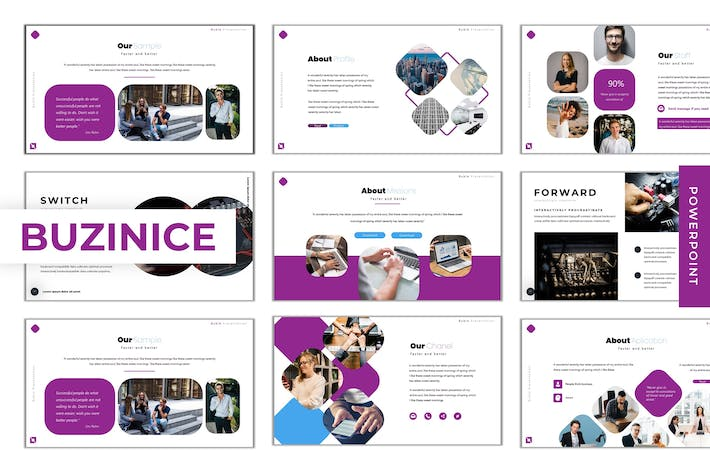 Thumbnail for Buzinice - Powerpoint Template