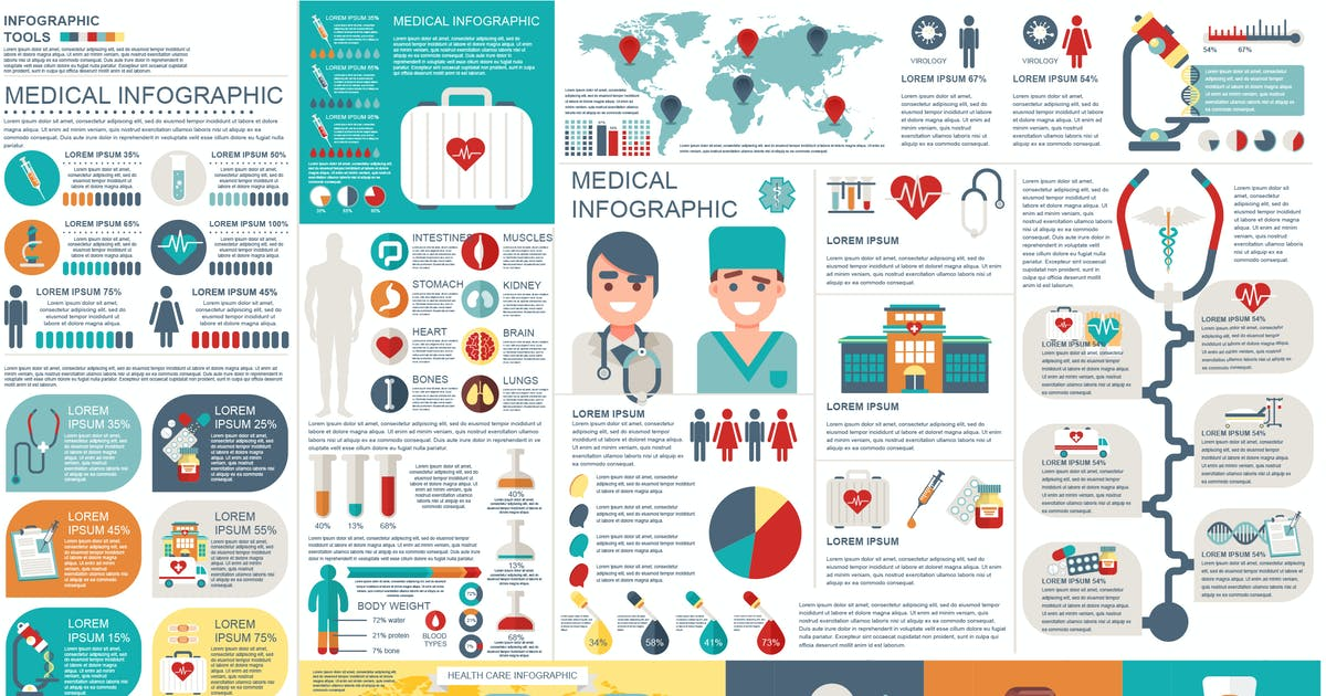 Download Medical Infographic Elements by alexdndz