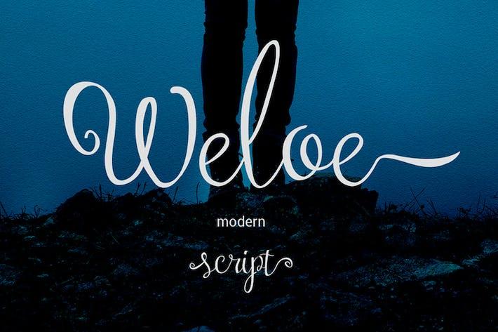 Thumbnail for Weloe Script