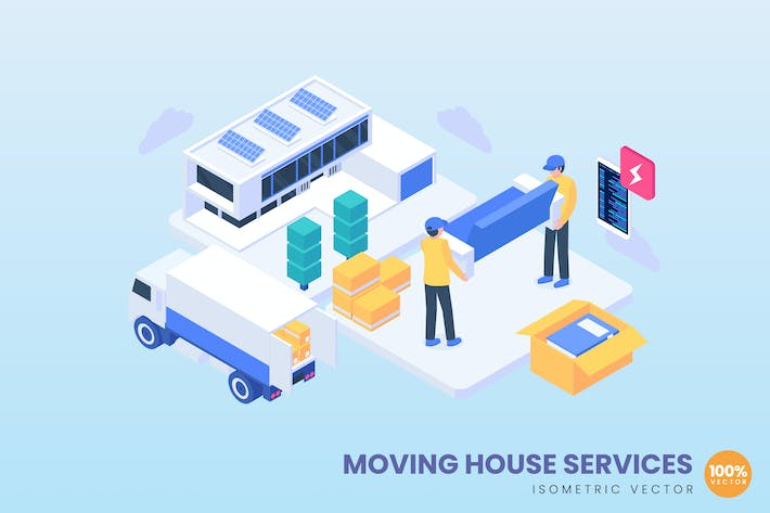 Thumbnail for Moving House Services Concept