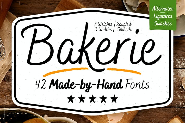 Thumbnail for Familia tipográfica Bakerie