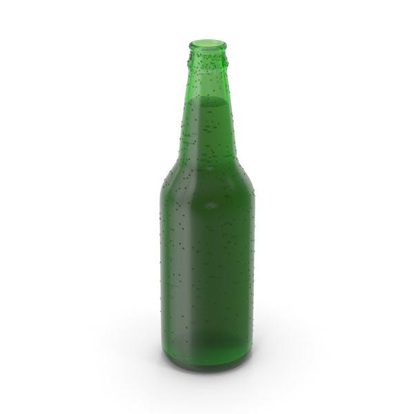 Botella de cerveza sin tapa