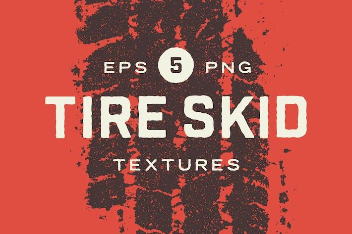 Tire Skid Mark Textures
