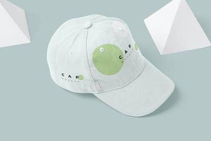 5 Baseball Cap Mockups - V3
