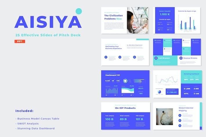 AISIYA - Шаблон презентации колоды