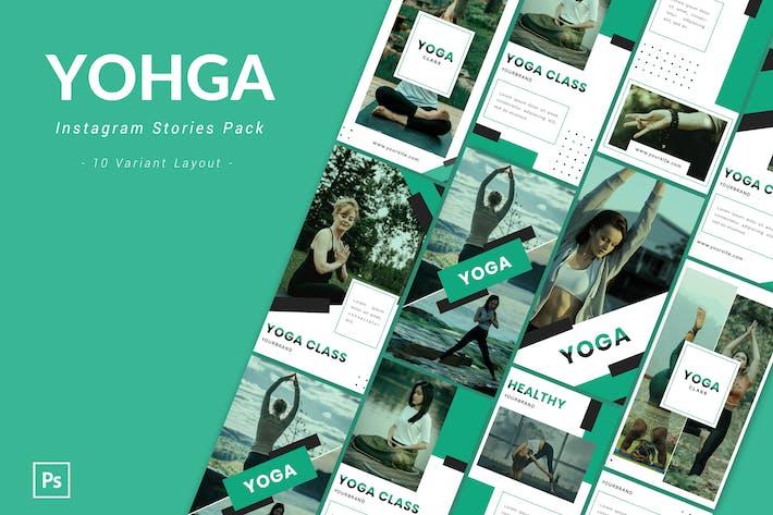 Thumbnail for Yohga - Pack histoire Instagram