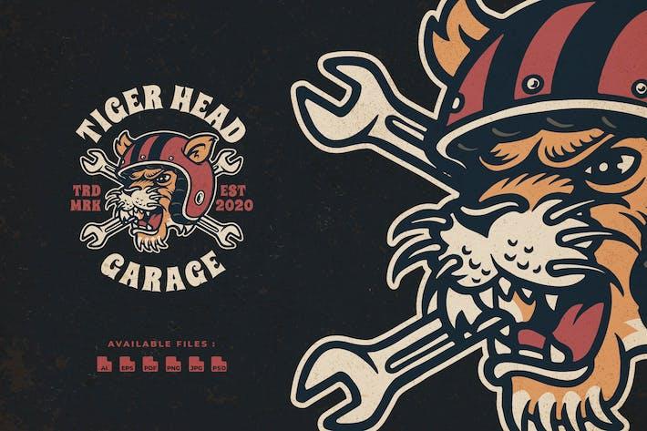 Thumbnail for Tiger Head Badge Logo