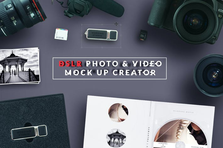 Thumbnail for DSLR Photo / Video Mock Up Creator