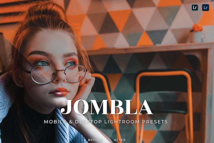 Jombla Mobile and Desktop Lightroom Presets