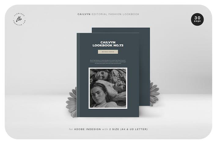 Thumbnail for Cailvyn Editorial Fashion Lookbook