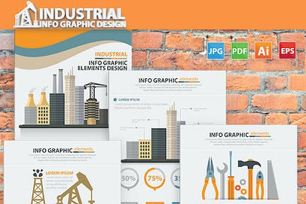 Industry Infographic 17 Pages Design