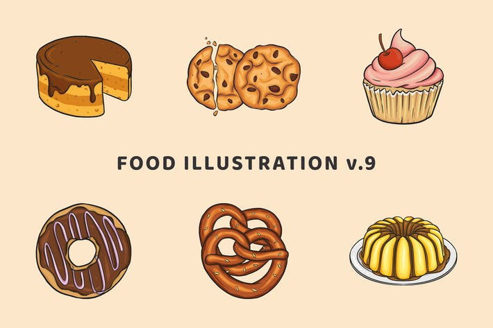 Thumbnail for Food Illustration V.9