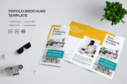 Business Company - Trifold Brochure