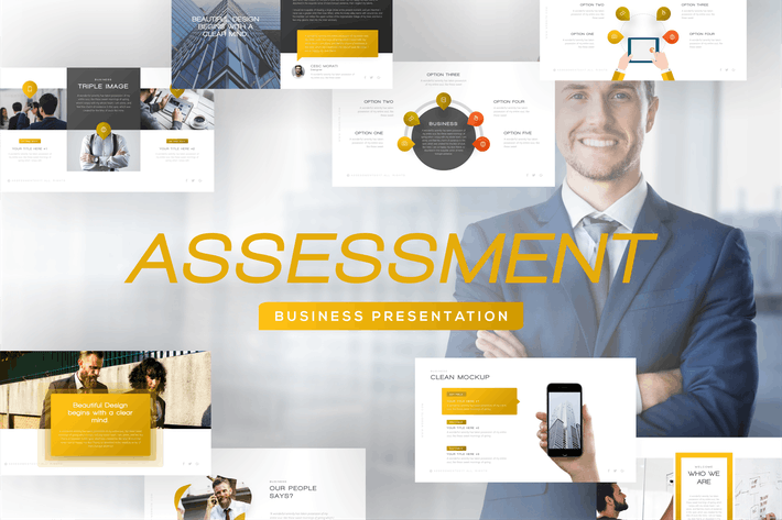 Thumbnail for Assessment Business Presentation