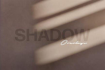 Superposiciones de fotos de juego de sombras