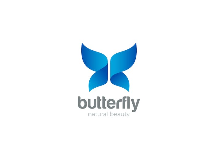 Logo Butterfly Wings