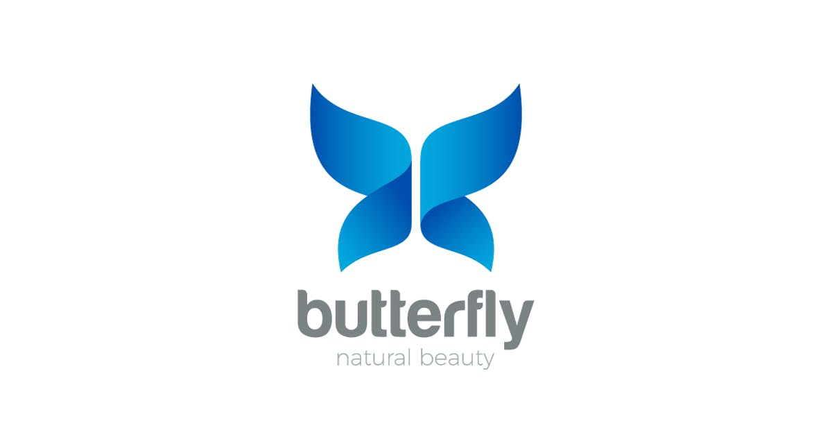 Download Logo Butterfly Wings by Sentavio
