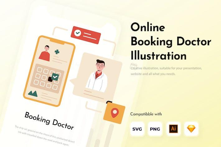Réservation en ligne Doctor