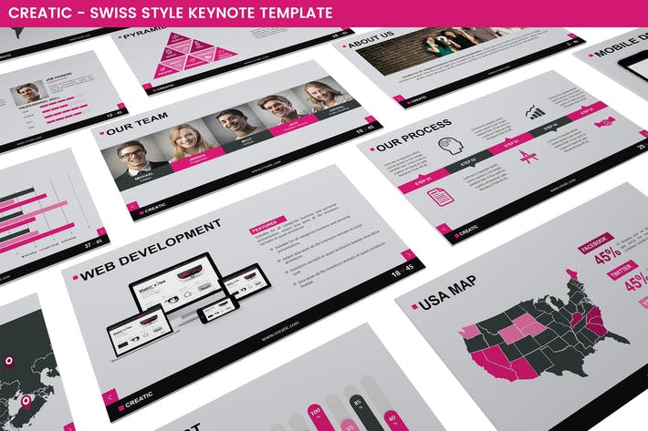 Thumbnail for Creatic Keynote Template