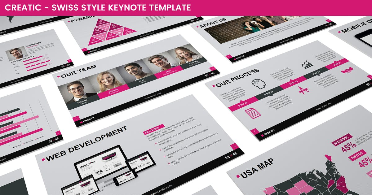 Creatic Keynote Template by Unknow