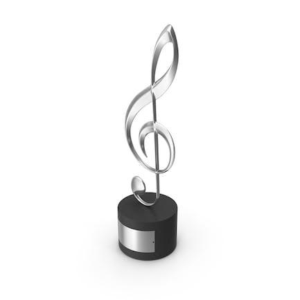 Music Award Trophy
