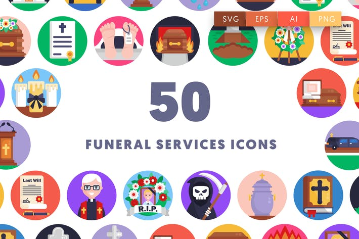 Thumbnail for Funeral Services Icons