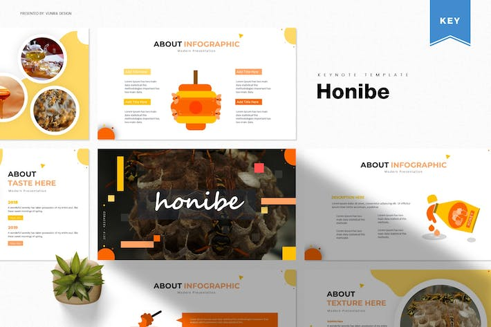 Thumbnail for Honibe | Keynote Template