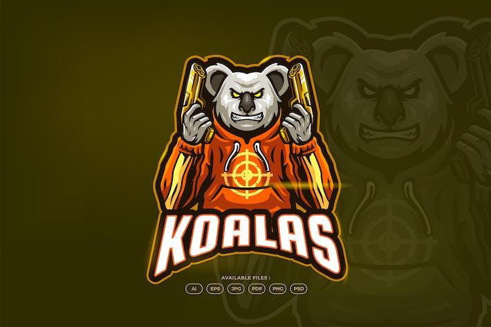 Thumbnail for Koala Gangster Gun Street
