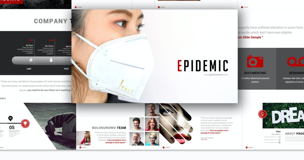 Download Epidemic - Powerpoint Template by Artmonk